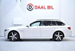 BMW 520D 184HK D-VÄRM FULLSERV.BMW BACKKAM DRAG