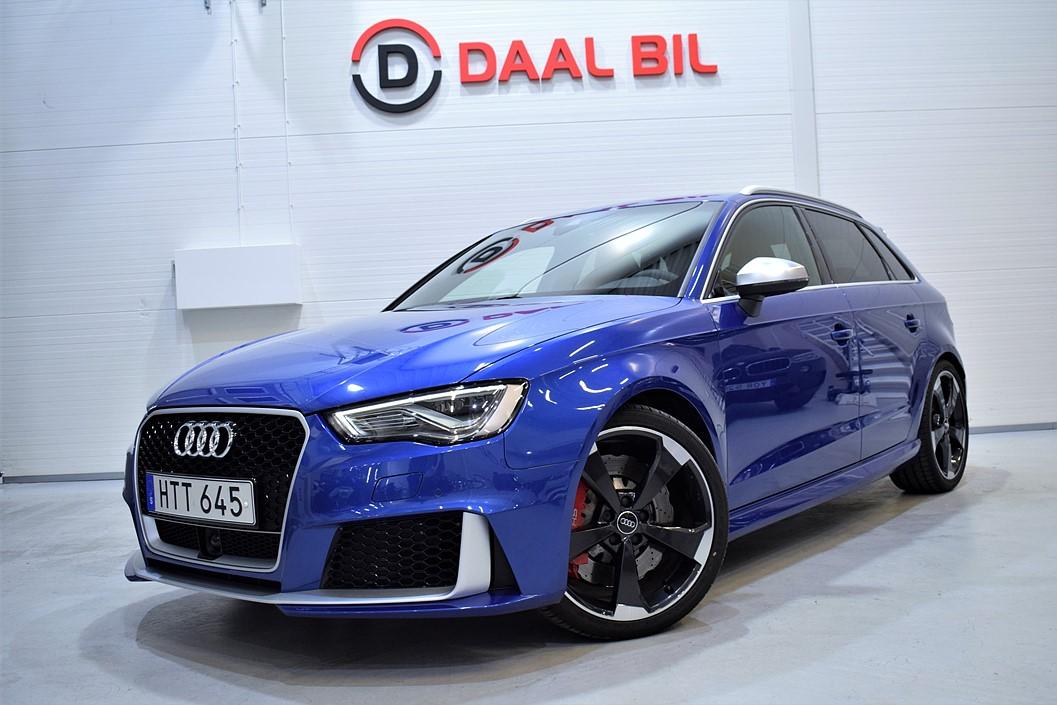 Audi RS3 SPORTBACK 2.5 367HK QUATTRO NAVI B&O