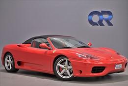 Ferrari 360 Spider 3.6 V8 400hk
