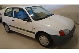 -97 Toyota Starlet 1,3 75 hk 3 dörrars Superskick!