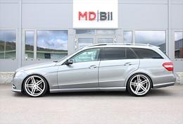 "Mercedes-Benz E 220 CDi Aut AMG Alu 20"" Panorama 0kr kontant möjligt"