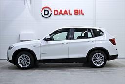 BMW X3 X-DRIVE 190HK M-VÄRM DRAG P-SENS EURO6 KEYLESS
