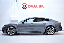 Audi A7 3.0TDI 272HK BOSE, HEAD UP, SE UTR.