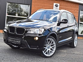 BMW X3 20d X-Drive/184HK/AUT/Navigation