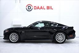 Ford Mustang GT FASTBACK 5.0 V8 422HK SHAKER NAVI LÄDER KAM