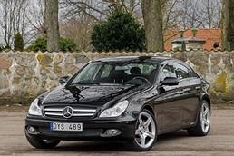 Mercedes-Benz CLS 500 / Comand / Lucka / 388hk