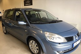 -08 Renault Grand Scénic 2.0 Manuell, 135hk, 7-Sits, Drag, Nyservad