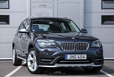 BMW X1 X-Drive 18d Steptronic Dragkrok