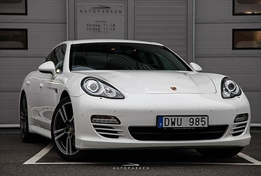 Porsche Panamera 4S V8 Luftfjädring PDK