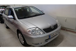 -04 Toyota Corolla 1,6 SOL Sedan 110 hk 5vxl