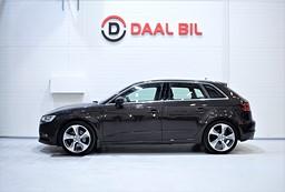 Audi A3 1.8 180HK FULLSERV.AUDI M-VÄRM P-SEN FRAM