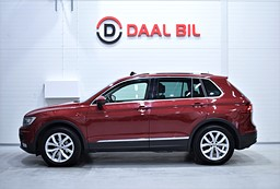 VW Tiguan 1.4 TSI 150HK 4M EXECUTIVE DRAG KAM SE.UTR!