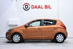 Hyundai i20 1.4 101HK 5-DÖRRAR P.SENSORER FULL & NYSERVAD