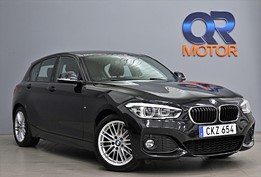 BMW 120 M-Sport Eu6 / H/K / Läder / Automat 184hk
