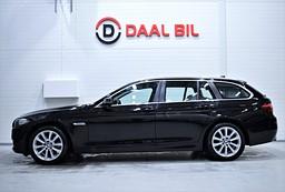 BMW 520D 190HK XDRIVE P-VÄRM SKINN P-SEN FULLSERV.