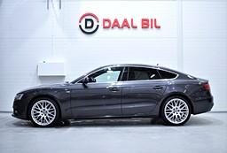 Audi A5 2.0 190HK QUATTRO S-LINE NAVI TAKLUCKA