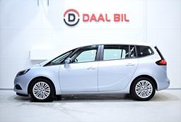 Opel Zafira 1.4 TURBO 140HK 7-SITS RATTVÄRME PANO EURO 6