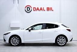 Mazda 3 SPORT 2.2 SKYACTIVE 150HK BOSE DRAG NAVI P-SEN