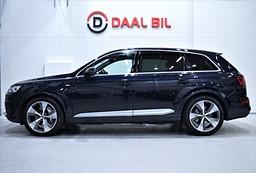 Audi Q7 3.0TDI 272 HK Q 7-SITS S-LINE COCKPIT LUFTFJÄDRING