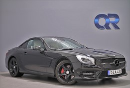 Mercedes-Benz SL 500 AMG BLACK-EDITION FULLUTRUSTAD