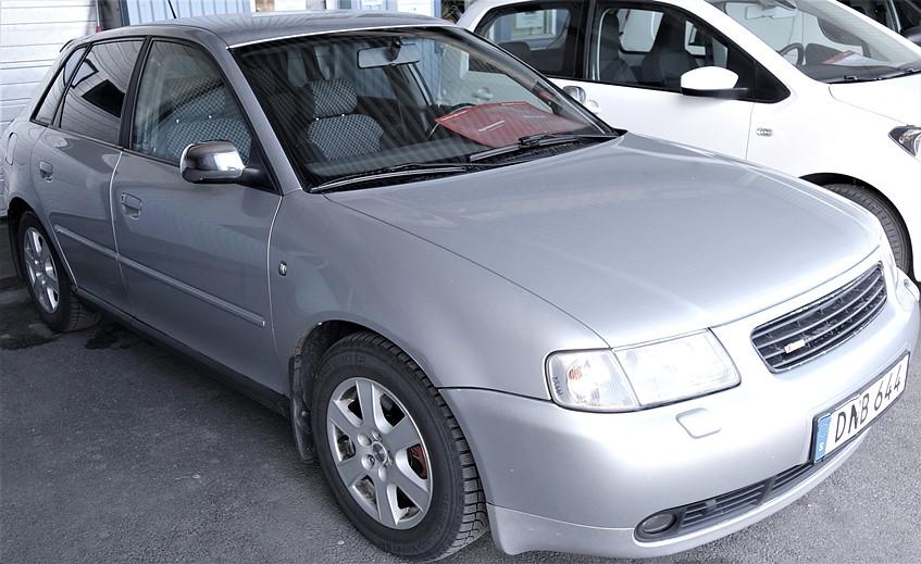 -99 Audi A3 1.8T Ambition 5dr 150hk