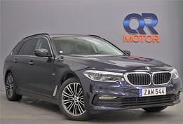 BMW 520d xDrive Sport line / H/K / Läder / Hud / Drag 190hk