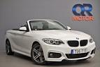 BMW 220 i Cab M-Sport / Eu6 / Navi / Läder 184hk