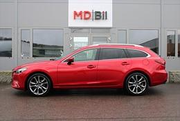 Mazda 6 2.5 Wagon 192hk Aut Optimum Drag Navi 1ägare
