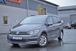 VW Touran 1.2 TSI S/V Hjul Dragkrok 7-sits 110hk