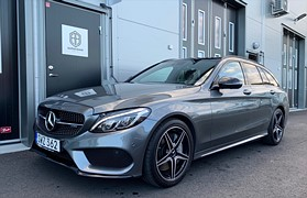 Mercedes-Benz C 43 AMG 4MATIC 9G-Tronic AMG Sport Euro6 367hk