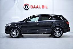 Audi Q7 V8 TDI 326HK QUATTRO S-LINE 7-SITS DRAG NAVI