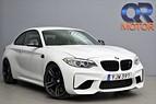 BMW M2 Coupé 420HK M-Performance avgas / Navi / H&K Sv-såld