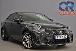 Lexus IS 300h 2.5 CVT F Sport / Läder / Eu6 / Moms 223hk