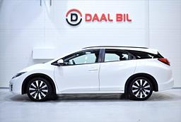 Honda Civic TOURER 1.6 120HK KAMERA  FULL.SERVAD