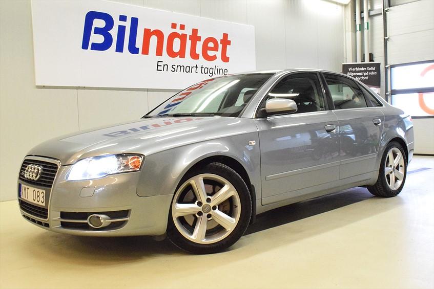 Audi A4 2.0T quattro (200hk)