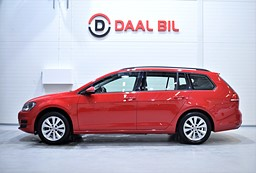 VW Golf VII SPORTSCOMBI 1.2 TSI 105HK STYLE DRAG KAM