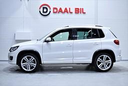 VW Tiguan 2.0 211HK 4MOTION R-LINE PANORAMA BACKKAM