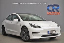 Tesla Model 3 Standard Range Plus Glastak Dragkrok Autopilot