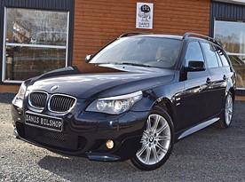 BMW 530xd Touring M-sport Aut, Helläder, GPS, 4WD, 235hk