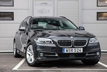 BMW 535d Touring xDrive Svensksåld 1-Ägare