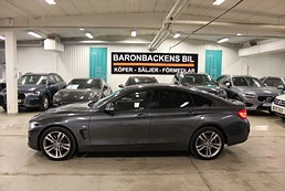 BMW 420d xDrive Gran Coupé Sport line Eu 6 190hk