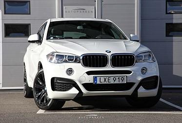 BMW X6 x-Drive 30D M-Sport 1-Ägare