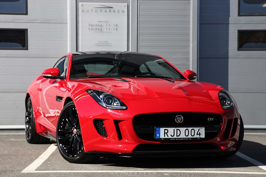 Jaguar F-Type Coupé V6