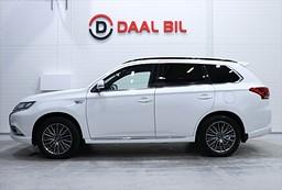 Mitsubishi Outlander PHEV 4WD 230HK PVÄRM TAKLUCK DRAG 360°