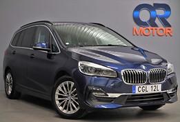 BMW 216 i Gran Tourer Luxury Line / Hud / Nav / Läder 109hk