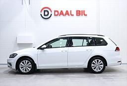 VW Golf 1.0 TSI 115HK PLUSPAKET KAMERA B-VÄRM DRAG
