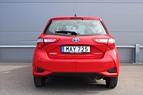 Toyota Yaris Hybrid Backkamera Blåtand Nyservad Momsbil