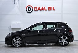 VW Golf  R 2.0 4MOTION 310HK COCKPIT MANUELL LÅGA MIL