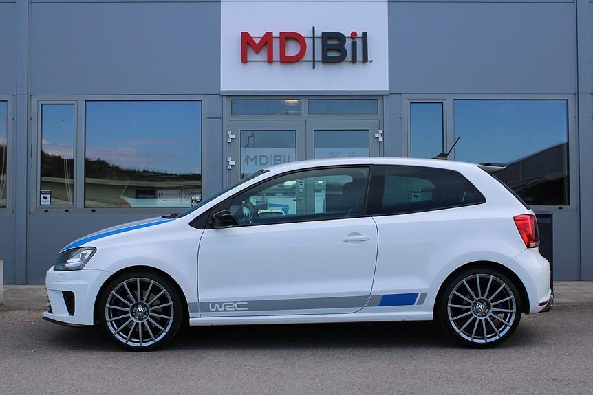Volkswagen Polo R WRC 220hk 1444 av 2500 0kr kontant möjligt