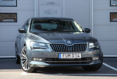 Skoda Superb 2.0 TDi 190HK Lamin&Klement